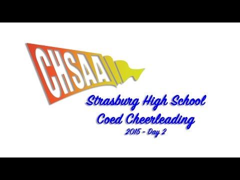 Strasburg Coed Cheer 2015 State Runner Up