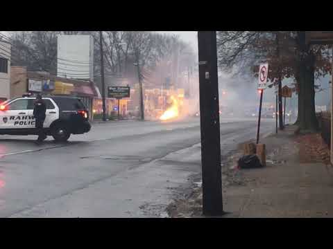Electrical fire in Rahway, NJ