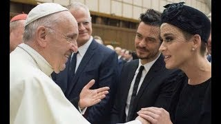 WHAT?! Katy Perry Speaks at the Vatican AND MORE!