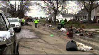 Hurricane Sandy Cleanup Effort in Lindenhurst