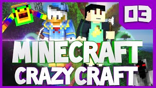 Minecraft Mods: Crazy Craft 2.1 Modded Survival #3 The Emerald Mango (Crazy Craft ModPack 2.1)
