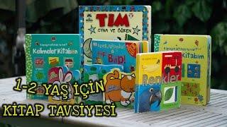 1 - 2 Yaş Çocuklar İçin Kitap Tavsiyesi