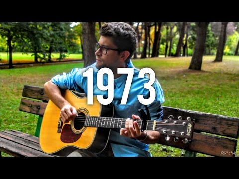 1973 - James Blunt (INSTRUMENTAL fingerstyle guitar cover) [+ FREE TABs]