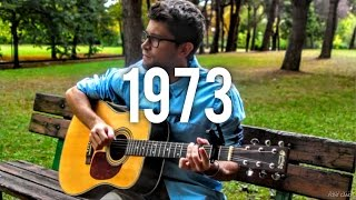1973 - James Blunt (INSTRUMENTAL fingerstyle guitar cover) [+ TABS]