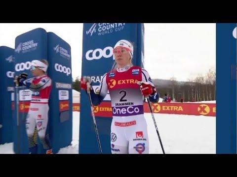 Sprint fri teknikk kvinner - Drammen mars 2020