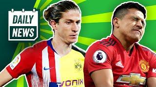 BVB Transfer News: Dortmund will Filipe Luis? Solskjaer will Sancho & Odoi! Hannover ärgert Arsenal!