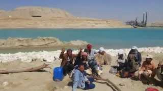 New Suez Canal:  dredging sector East May 5, 2015