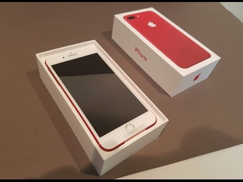 Iphone  Unboxing Red