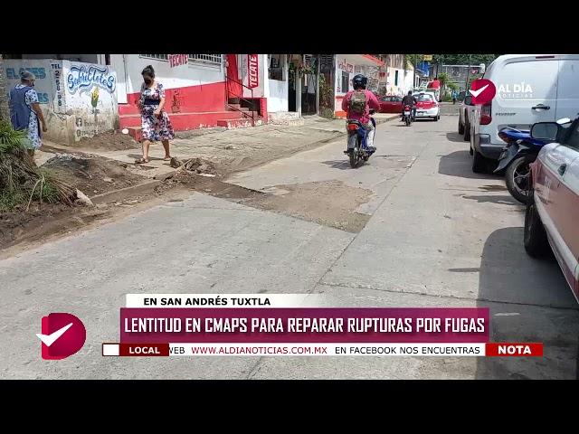 LENTITUD EN CMAPS PARA REPARAR RUPTURAS POR FUGAS