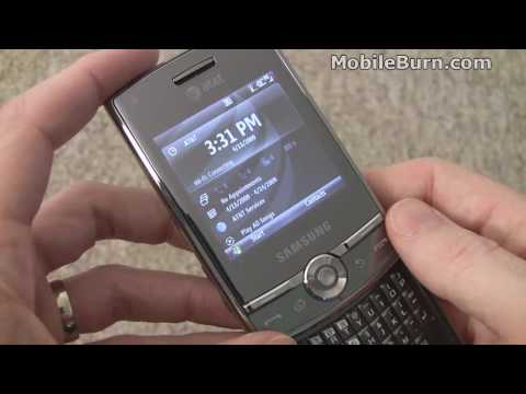 Samsung Propel Pro for AT&T - part 1 of 2