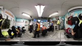 A 360 video tour of Bertha and Seattle's SR 99 tunnel