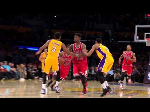 Chicago Bulls Run the Fast Break to Perfection