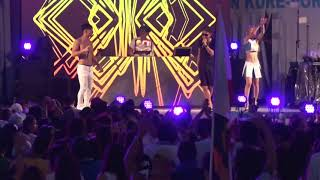 SPICY CHOCOLATE with Asian Mixed Boyz//「Touch the sky(DUB) 」at MUSICAL RUSH2017 in 呉ポートピアパーク.