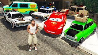GTA 5 - Collecting RARE & FAMOUS MOVIE Cars! (Mod)