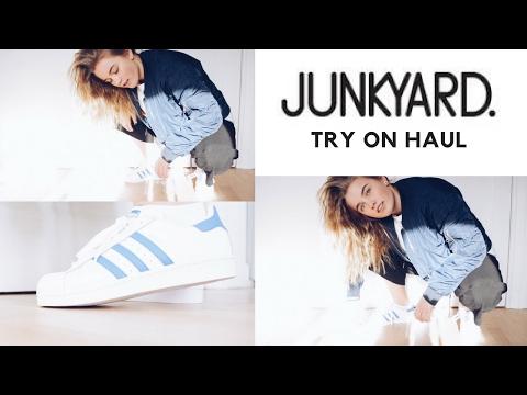 TRY ON HAUL | junkyard dk