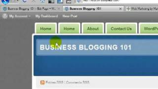 WordPress Tutorial - How to Make a Static Page Your Home Page & Hide Double Home Page Link