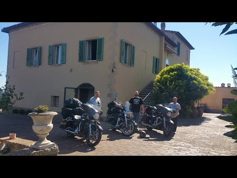 Europe motorcycle trip 2016 film (version with music)