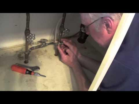 kitchenaid fridge water hookup