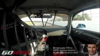Emanuele Pirro Testing the APR Motorsport R8 LMS (Grand-AM) at Daytona International Speedway