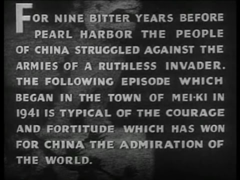China The Movie 1943 End