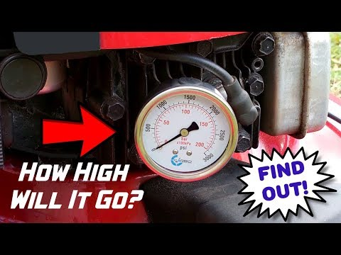 How Much Cylinder Pressure Inside A Running Gas Engine? Find out!