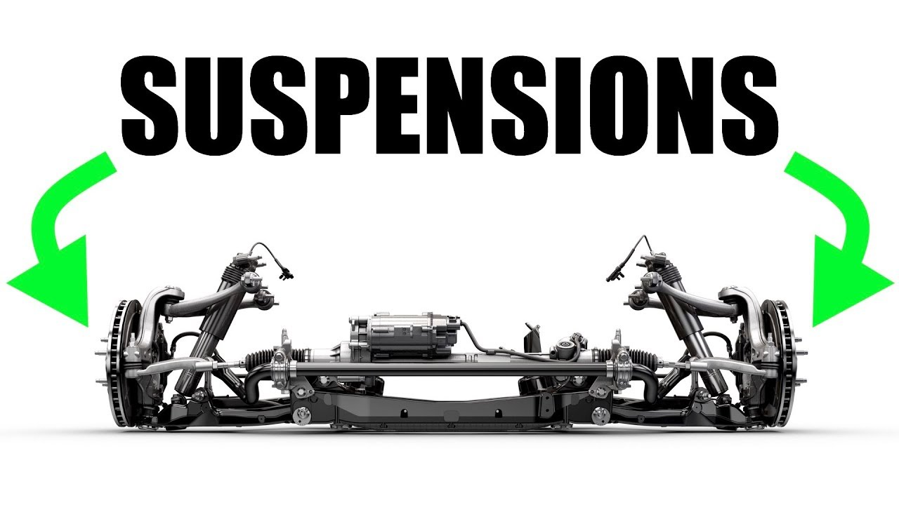 How Car Suspensions Work Springs Vs Shocks Youtube