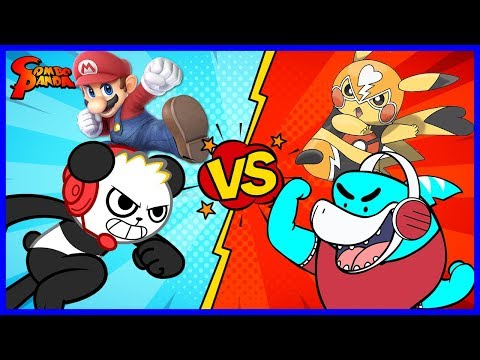 SUPER SMASH BROS ULTIMATE Let's Play with Combo Panda Vs. Big Gil thumbnail
