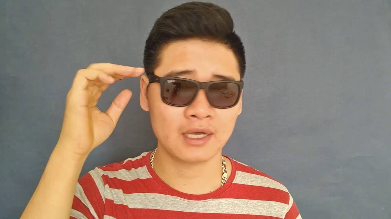 598c64f43aa62d Ray Ban Justin Polarized Review - YouTube