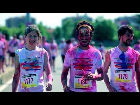 The Color Run powered by Skittles,  sesta fun race italiana. Tema 2018, 'Heroes'. Rds radio partner