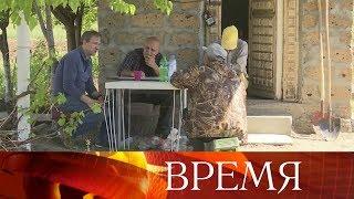 Съемочная группа Первого канала пообщалась с армянскими избирателями за пределами Еревана.