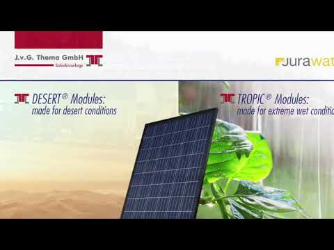 Why DESERT solar is best for hot countries?