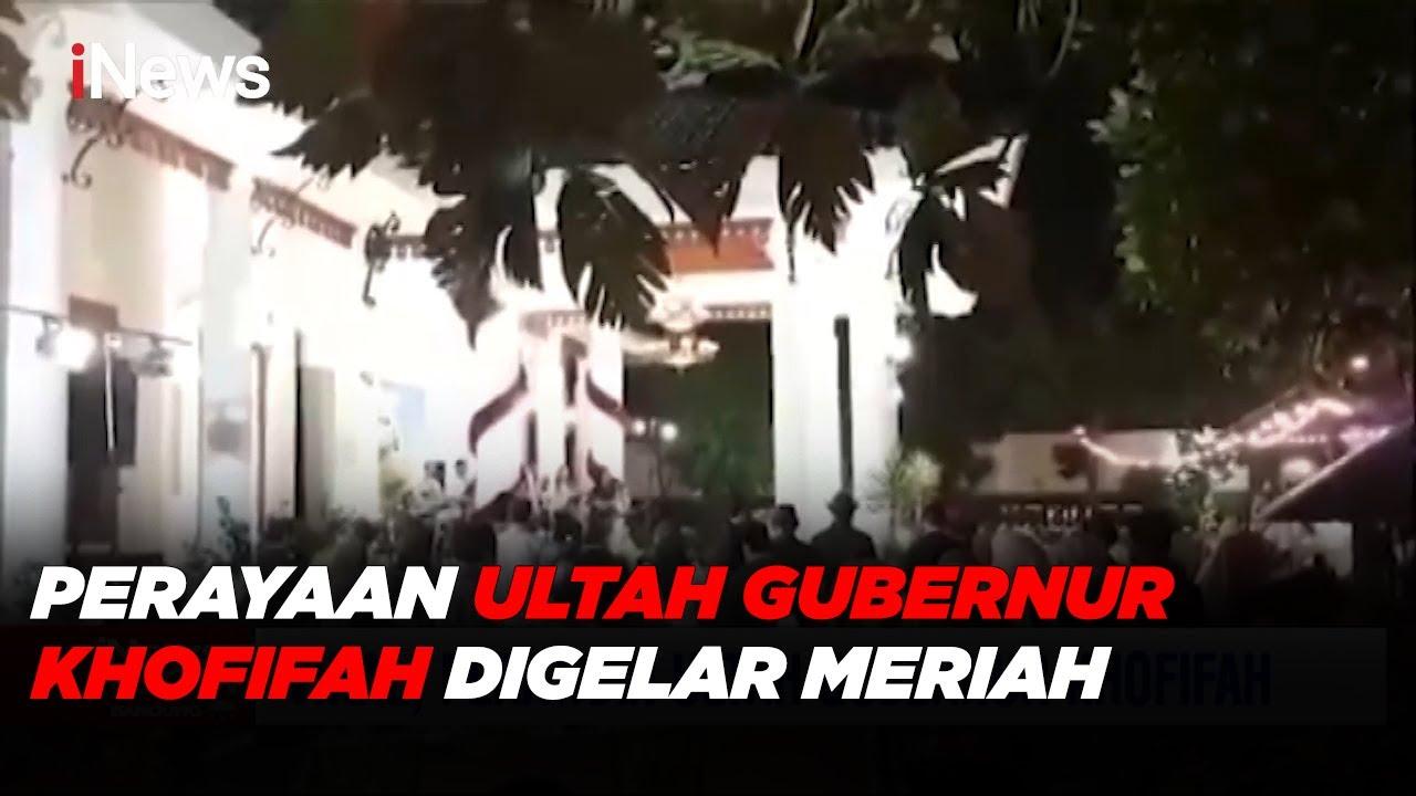 VIRAL! Perayaan Meriah Ultah Gubernur Khofifah Part 02 - iNews Room 21/05