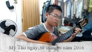 Ngõ Hồn Qua Đêm - Sáng tác : Hàn Châu & Triết Giang - [Bolero - Guitar Instrumental]