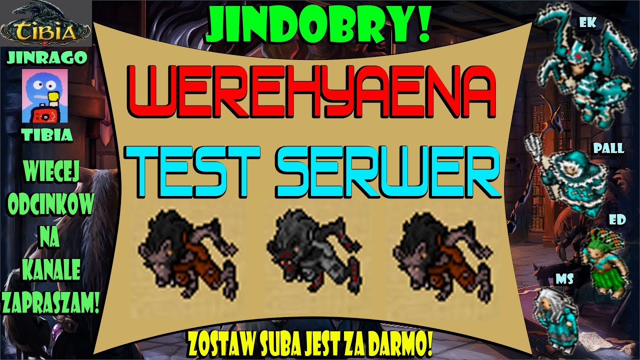 Tibia - Werehyaena Test Serwer