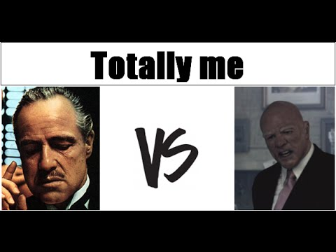 The Godfather Don Vito Corleone Vs The Get Away Charlie Jolson