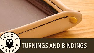 Leather Turning and Bindings