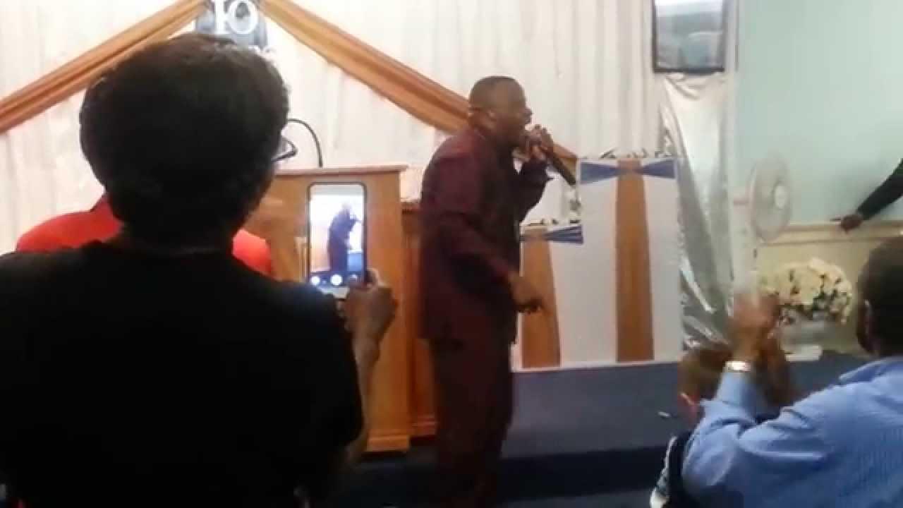 Bertrand Bailey Closing, `Take Care of the Pastor`