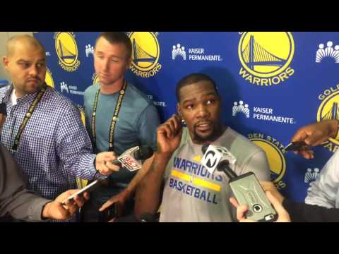 "Durant on Ron Adams and defense: ""He"