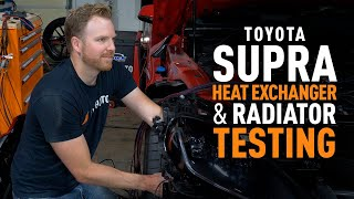 homepage tile video photo for 2020+ Toyota Supra Heat Exchanger and Radiator Testing