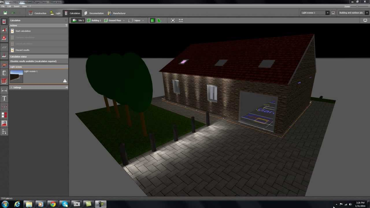 Dialux Evo Tutorial Part 6 How To Add The Second Floor And Sloping Roof Youtube