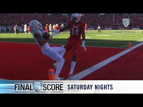 Recap: Oregon football edges Utah on last-second Darren Carrington touchdown