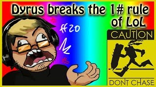 Dyrus Breaks the #1 Rule of League of Legends