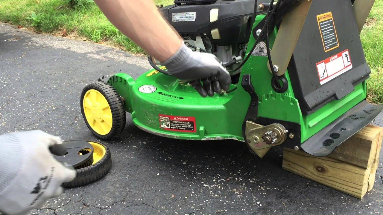 John Deere Jx75 Lawn Mower Grease Points On Rear Axle