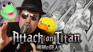 "Download ""My War"" Cover (Attack on Titan Season 4 OP) - Mr. Goatee feat. @djalto  @LadyIgiko @L-Train"