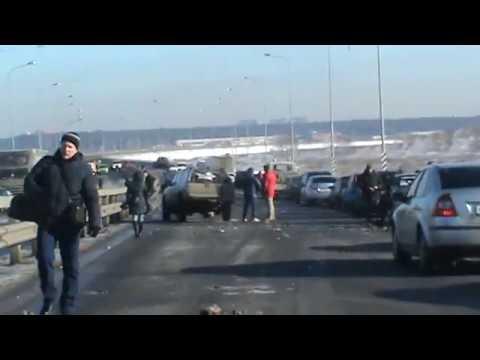 Авария недалеко от Лосино-Петровского