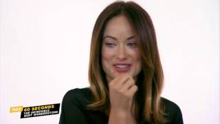 MAX 60 Seconds with Olivia Wilde (The Incredible Burt Wonderstone)