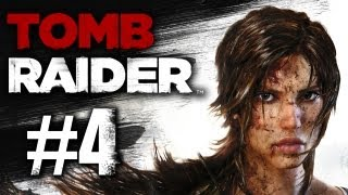 Tomb Raider (2013) - Gameplay Walkthrough Part 4 - Pack of Supplies (XBOX 360/PS3/PC)