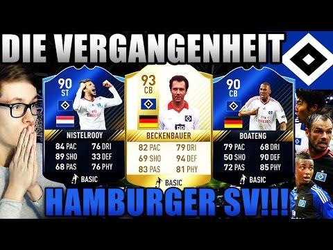 FIFA 17: HAMBURGER SV - DIE VERGANGENHEIT! 🔥⛔️ (DEUTSCH) - ULTIMATE TEAM - BECKENBAUER & CO!