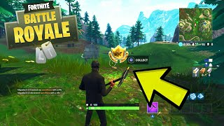 "Fortnite ""Snobby Shores Treasure Map"" Emplacement! Fortnite BR Semaine 3 Battle Pass Challenges Tutorial!"