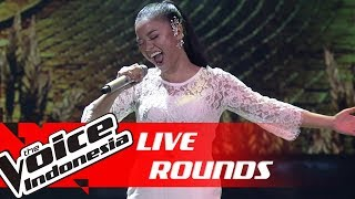 Waode - I'll Never Love Again  Lady Gaga  | Live Rounds | The Voice Indonesi